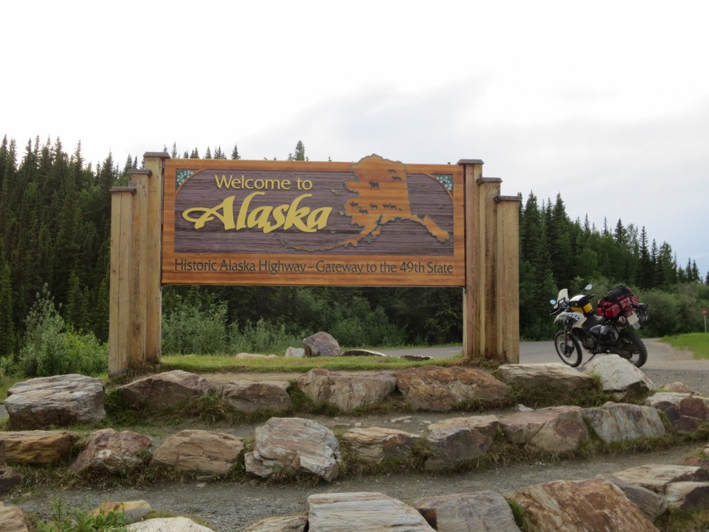 Finally Made it to Alaska by Motorcycle